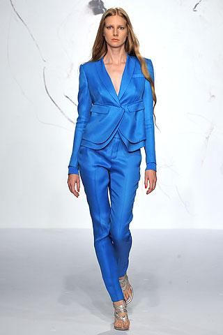 Rachel Roy SS10 Blue Suit on exshoesme.com