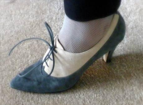 Suede-Heels on exshoesme.com
