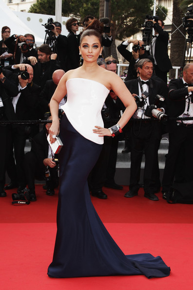 Aishwarya Rai at the 2011 Cannes Film Festival on exshoesme.com. Photo by Andreas Rentz-Getty Images Europe.
