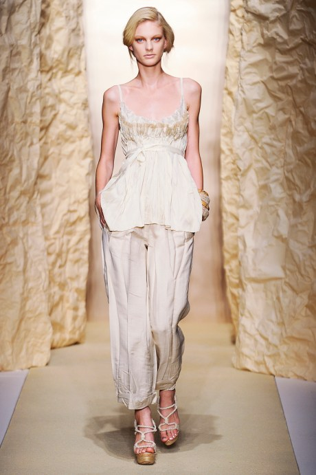 Donna Karan SS11 Rolled Pants and Tank on exshoesme.com
