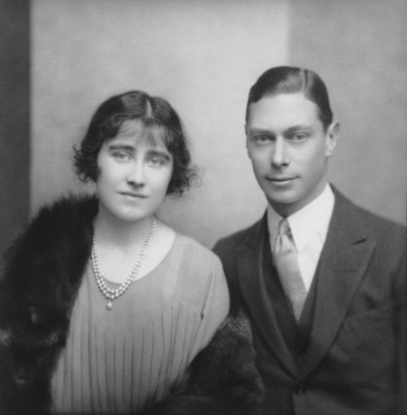 Duke and Duchess of York, later King George VI and Queen Elizabeth, the Queen Mother by E.O. Hoppé on exshoesme.com