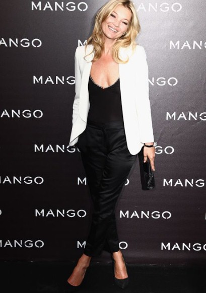 Kate Moss at the Mango Launch Party in Paris May 2011 on exshoesme.com