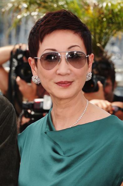 Nansun Shi at the 2011 Cannes Film Festival on exshoesme.com.
