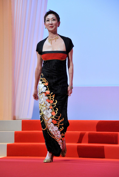 Nansun Shi at the Opening Ceremony of the 2011 Cannes Film Festival on exshoesme.com.