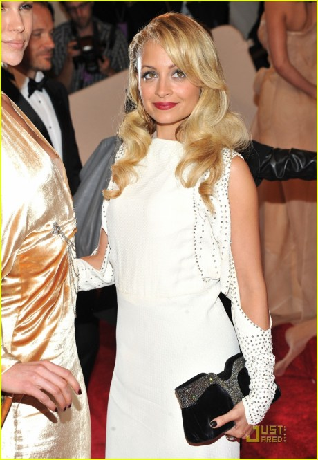Nicole Ritchie at the Met Ball 2011 on exshoesme.com