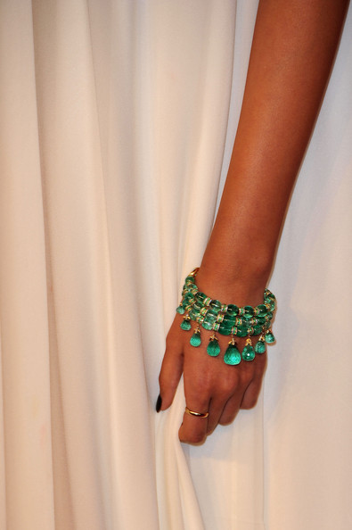 Sonam Kapoor's bracelet at the 2011 Cannes Film Festival on exshoesme.com