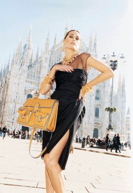 Yasmin Le Bon for Moschino SS11 Ad Campaign by Juergen Teller 4 on exshoesme.com