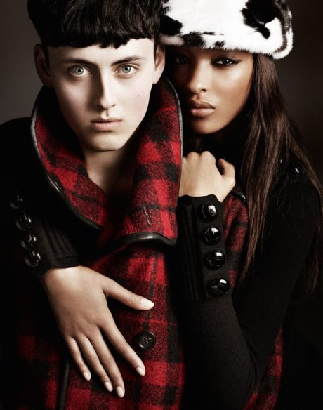 Burberry FW11 Ad Campaign 1 on exshoesme.com