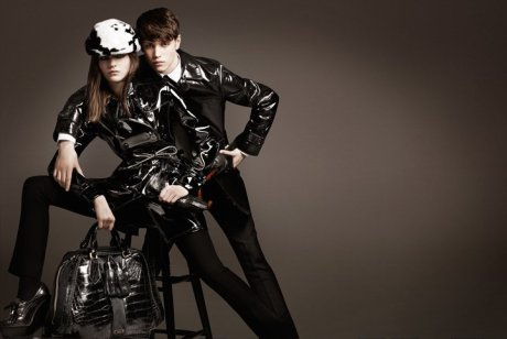 Burberry FW11 Ad Campaign 4 on exshoesme.com