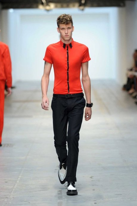 Costume National Skinny Rude Boy for SS12 on exshoesme.com