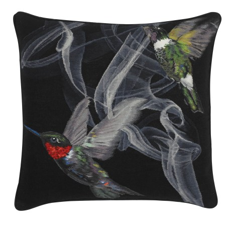 Alexander McQueen for The Rug Company Hummingbird Cushion on exshoesme.com