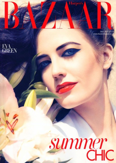 Eva Green by Camilla Akrans for Harper's Bazaar UK June 2011 on exshoesme.com