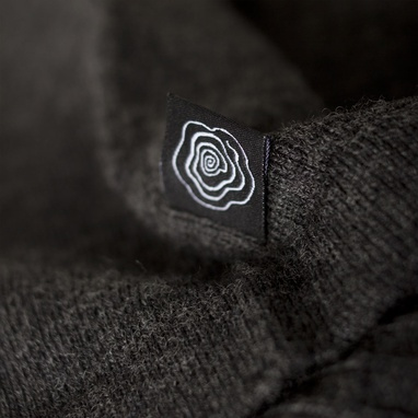 Paul Weller for Pretty Green Men's Cardigan with English Rose Tab Detailing on exshoesme.com