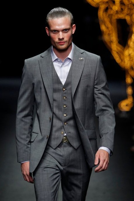 World Man SS12 Vivienne Westwood 3-piece suit detail on exshoesme