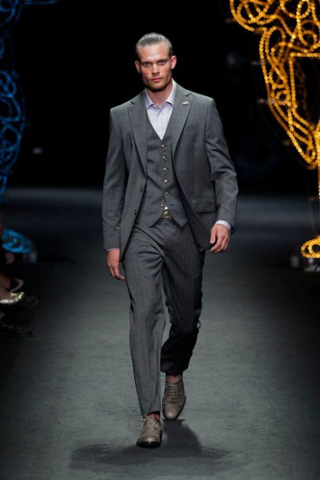 World Man SS12 Vivienne Westwood 3-piece suit on exshoesme.com