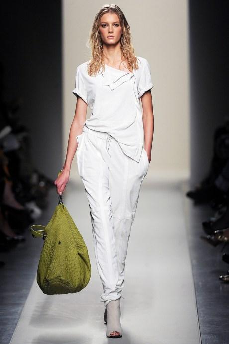 Bottega Veneta Chloe SS11 White Pants and Tee on exshoesme.com