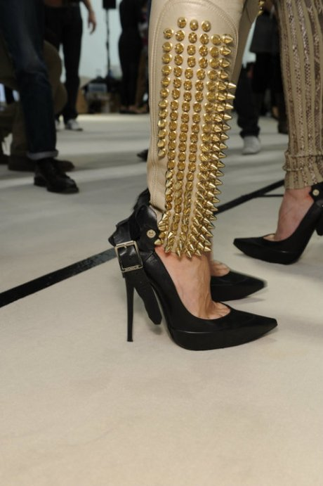 Burberry SS11 Stilts and Studs on exshoeme.com