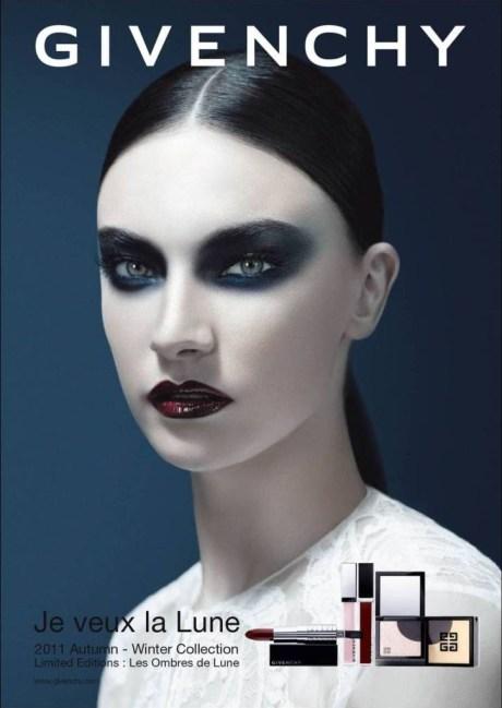 Jacquelyn Jablonski in Givenchy`s FW11 Beauty campaign on exshoesme.com