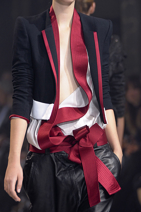 Haider Ackermann SS11 Red Black and White on exshoesme.com