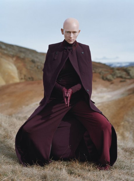 Tilda Swinton by Tim Walker W Mag Aug 2011 11 on exshoesme.com