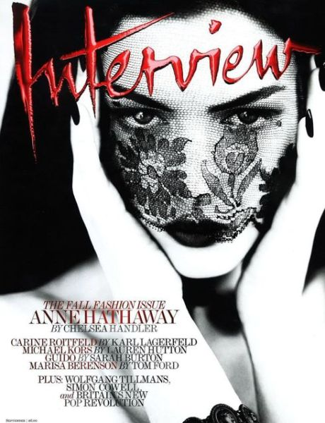 Anne Hathaway photographed by Mert & Marcus for Interview Magazine September 2011 on exshoesme.com