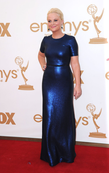 3. Amy Poehler in Peter Som at the 2011 Emmy Awards on Exshoesme.com Photo by Frazer Harrison Getty
