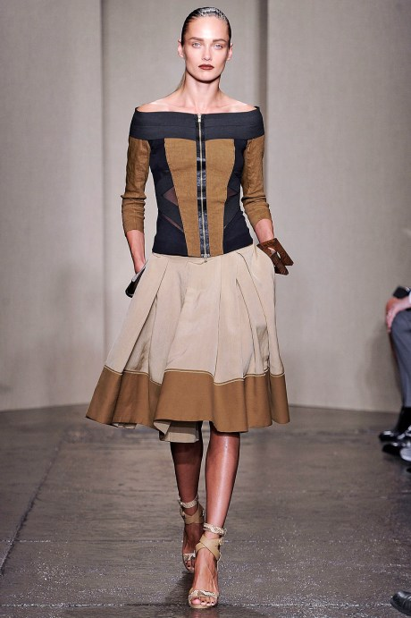 Donna Karan SS12 Zippered Jacket and Skirt on exshoesme.com