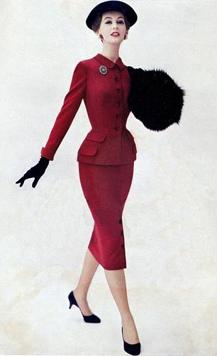 Dovima, 1955 on exshoesme.com