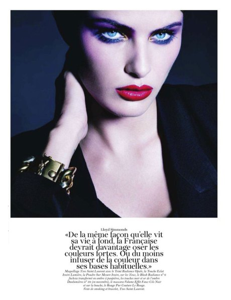 Isabeli Fontana by Patrick Demarchelier for Vogue Paris September 2011 on exshoesme