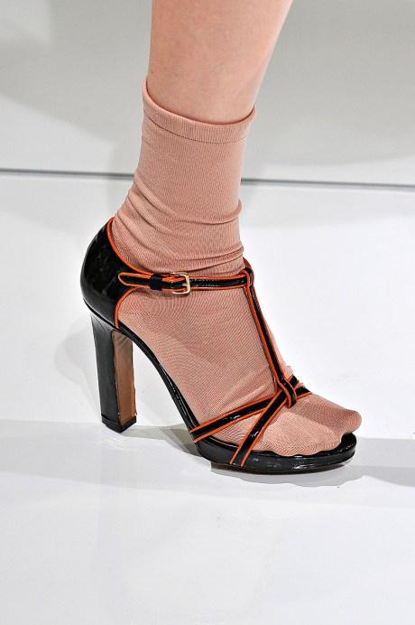 Marni SS12 Socks and Sandals on Exshoesme.com