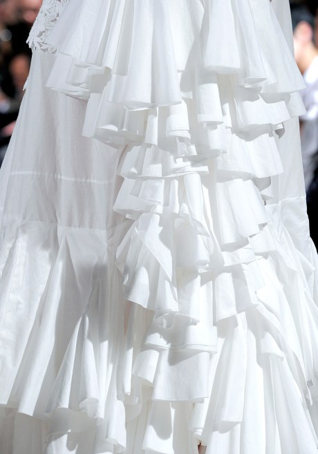 Comme Des Garcons SS12 Tiers of Ruffles Skirt on Exshoesme.com