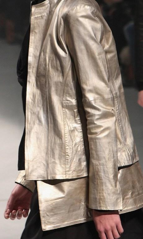 Julius FW11 Menswear Dull Gold Metallic Jacket on Exshoesme.com