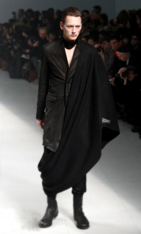 Julius FW11 Menswear Shawl Skirt on Exshoesme.com