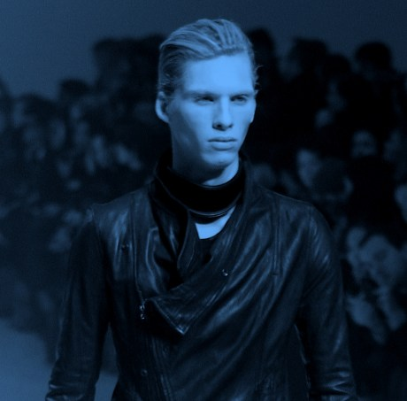 Julius FW11 Menswear Soft Leather Jacket on Exshoesme.com