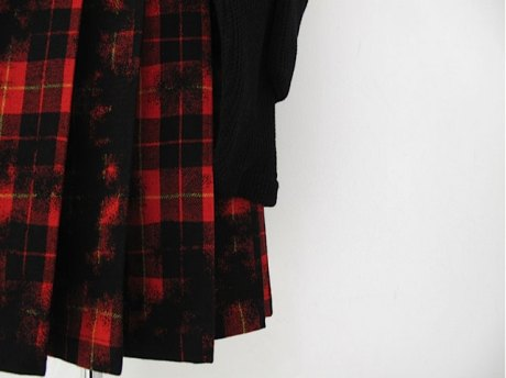 Y's Tartan Skirt on Exshoesme.com