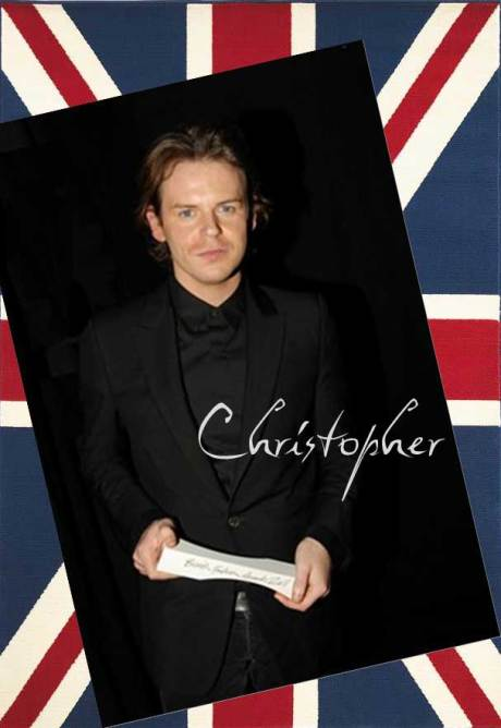 Christopher Kane winner of the New Establishment Award at the 2011 British Fashion Awards. Collage by Jyotika Malhotra on Exshoesme.com