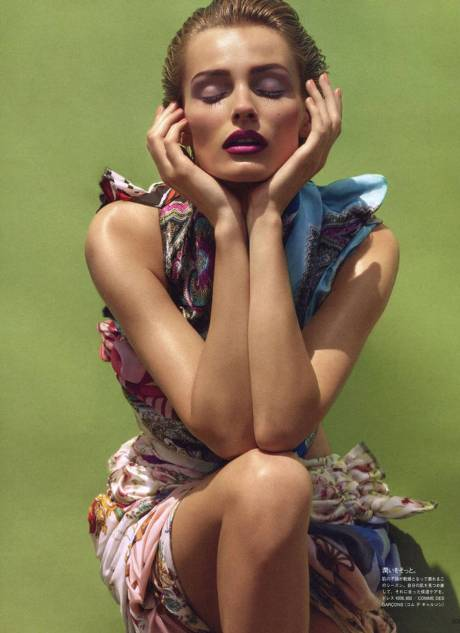 Edita Vilkeviciute  photographed by Solve Sundsbo for Vogue Japan Beauty November 2011 8 on Exshoesme.com