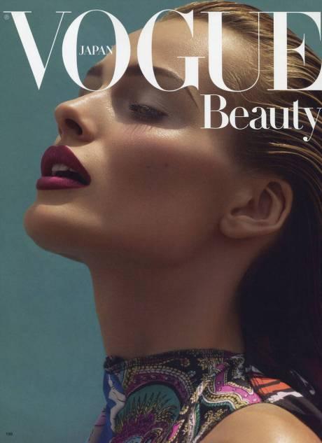 Edita Vilkeviciute  photographed by Solve Sundsbo for Vogue Japan Beauty November 2011 on Exshoesme.com