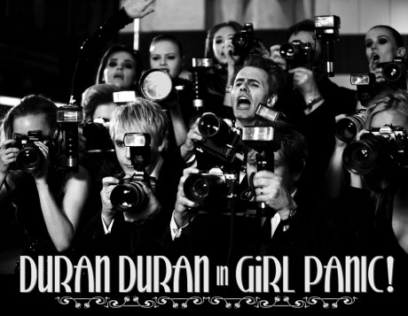 Duran Duran in Girl Panic on Exshoesme