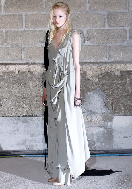 Maison Martin Margiela FW11 Draped Sleeveless Dress on Exshoesme.com