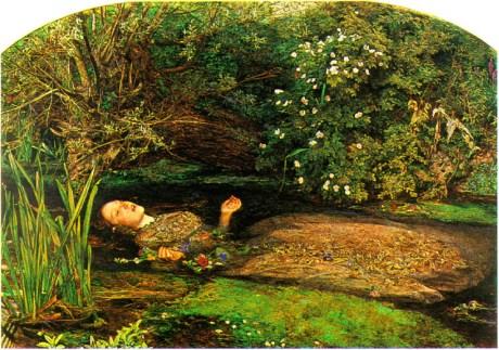 Ophelia by Sir John Everett Millais on Exshoesme.com