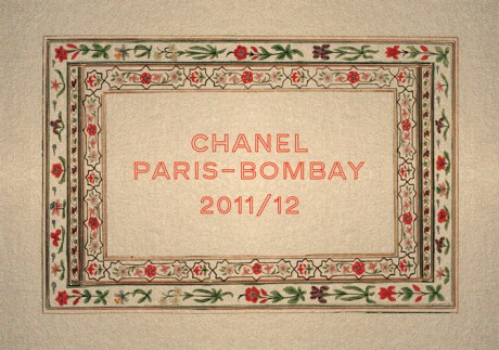 Chanel Métiers d'Art PF12 Paris-Bombay Show Invitation on Exshoesme.com