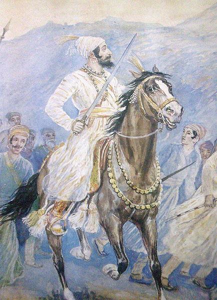 Chhatrapati Shivaji Maharaj and his army by M. V. Dhurandhar on Exshoesme.com