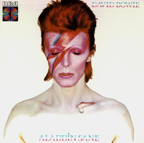 David Bowie Aladdin Sane Album Cover on Exshoesme.com