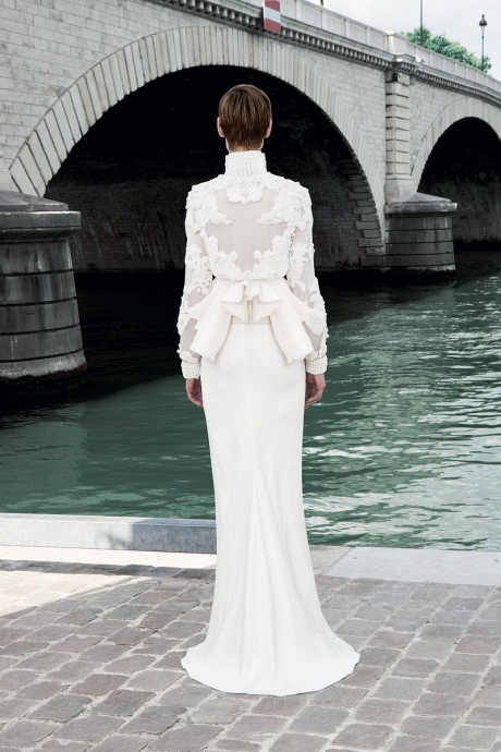 Givenchy FW11 Couture White Gown - Back on Exshoesme.com