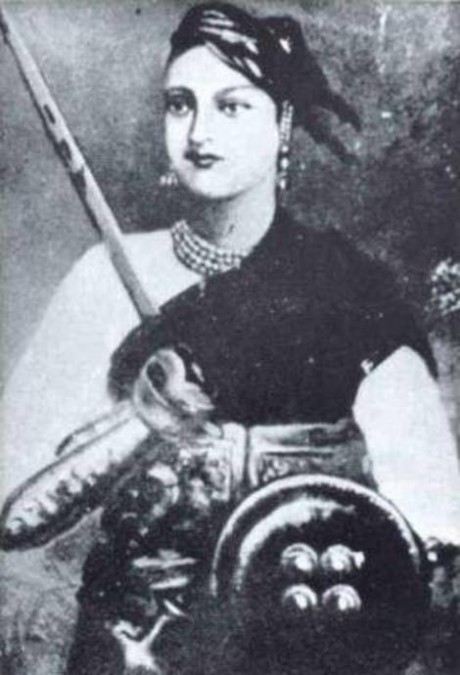Lakshmibai, Rani of Jhansi on Exshoesme.com
