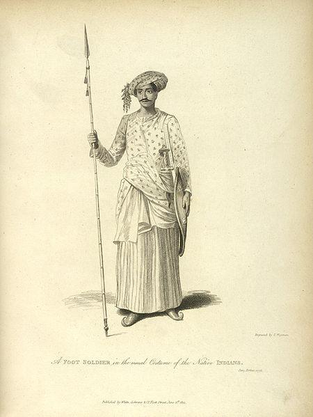 Maratha Soldier on Exshoesme.com