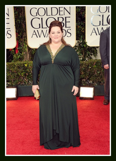 Melissa McCarthy in Badgley Mischka at the 2012 Golden Globe Awards on Exshoesme.com