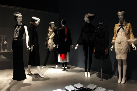 The Chic display at the Daphne Guinness Exhibit at the Museum at FIT on Exshoesme.com