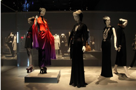 The Exoticism display at the Daphne Guinness Exhibit at the Museum at FIT on Exshoesme.com